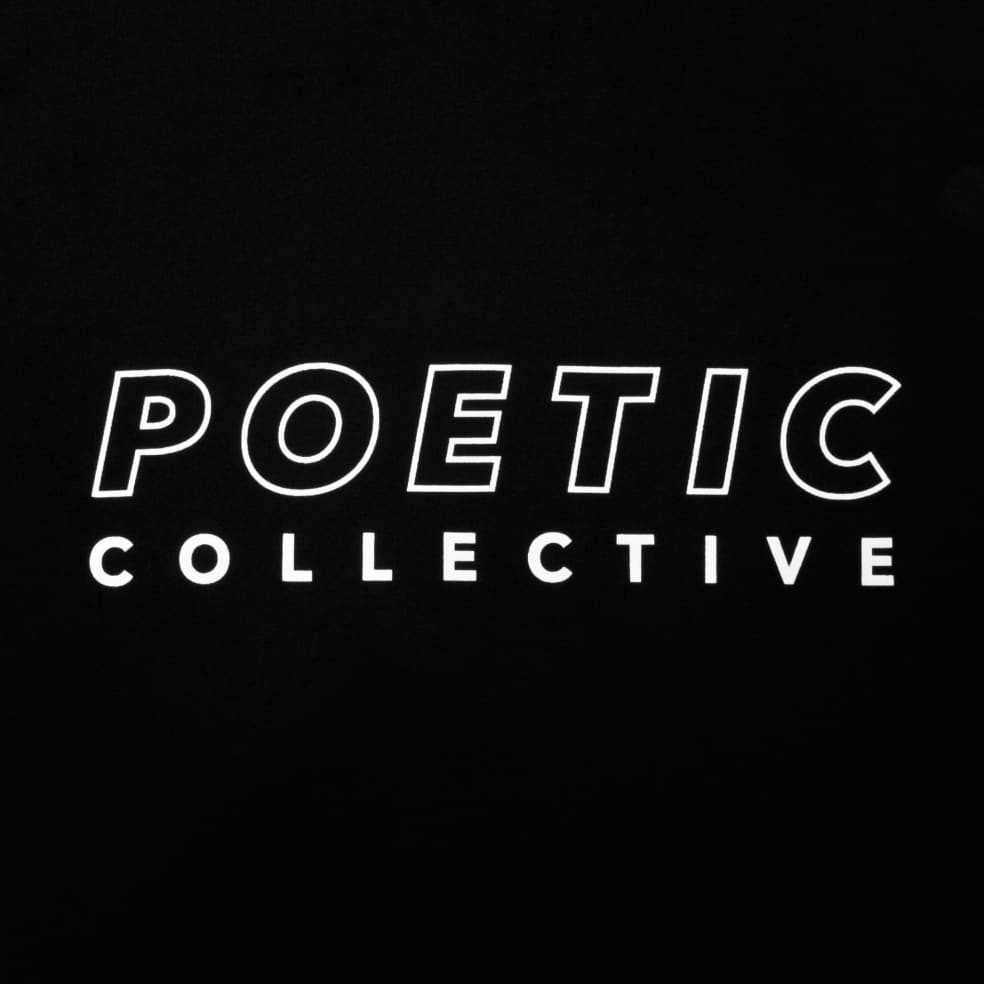 Poetic Collective Sports T Shirt Black | T-Shirt by Poetic Collective 2