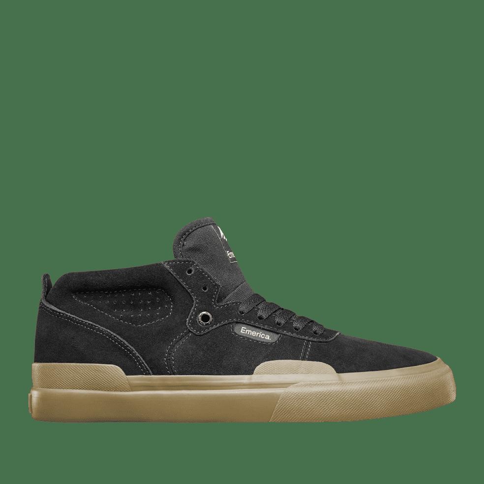 Emerica Pillar Skate Shoes - Black / Gum   Shoes by Emerica 1