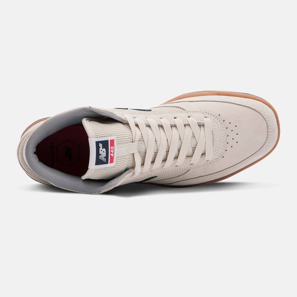 New Balance Numeric 440 High Shoes - Navy / Red | Shoes by New Balance 2