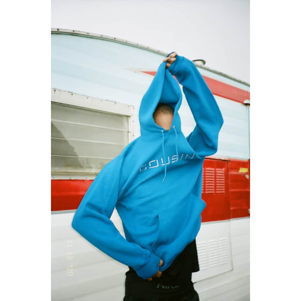 Cousin Records CR Hoodie - Royal | Hoodie by Cousin Records 3