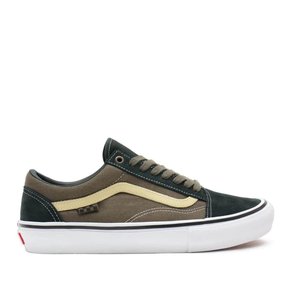 Vans Skate Old Skool Shoes - Scarab / Military   Shoes by Vans 1