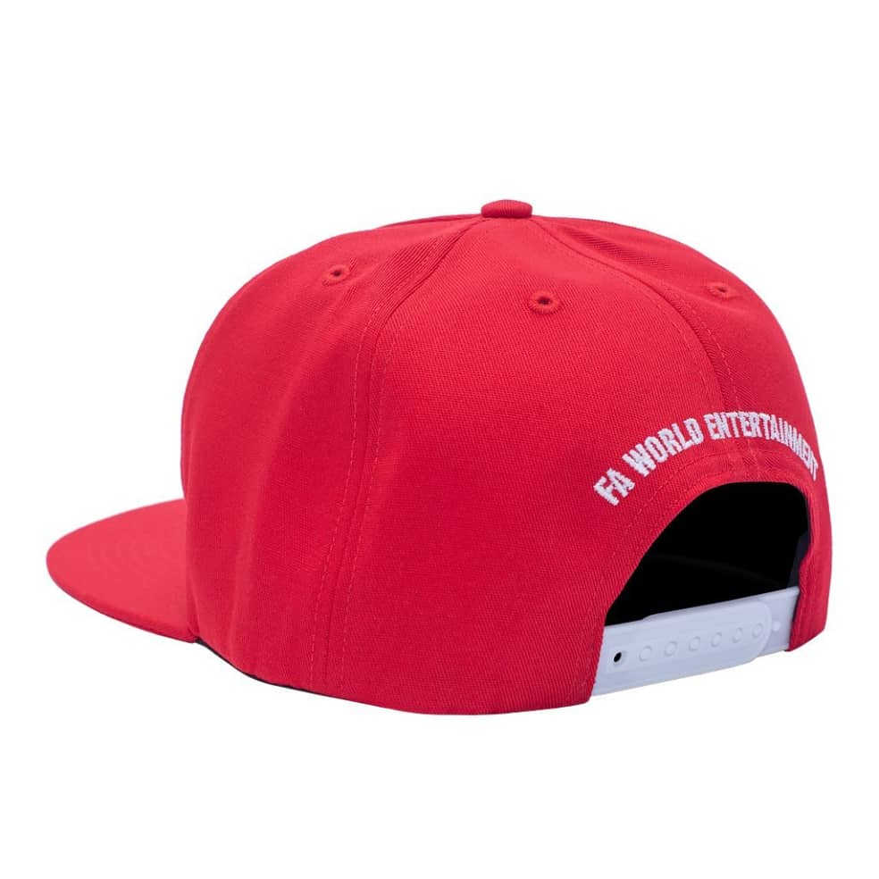 Fucking Awesome Rat Pack Snapback - Red   Snapback Cap by Fucking Awesome 2