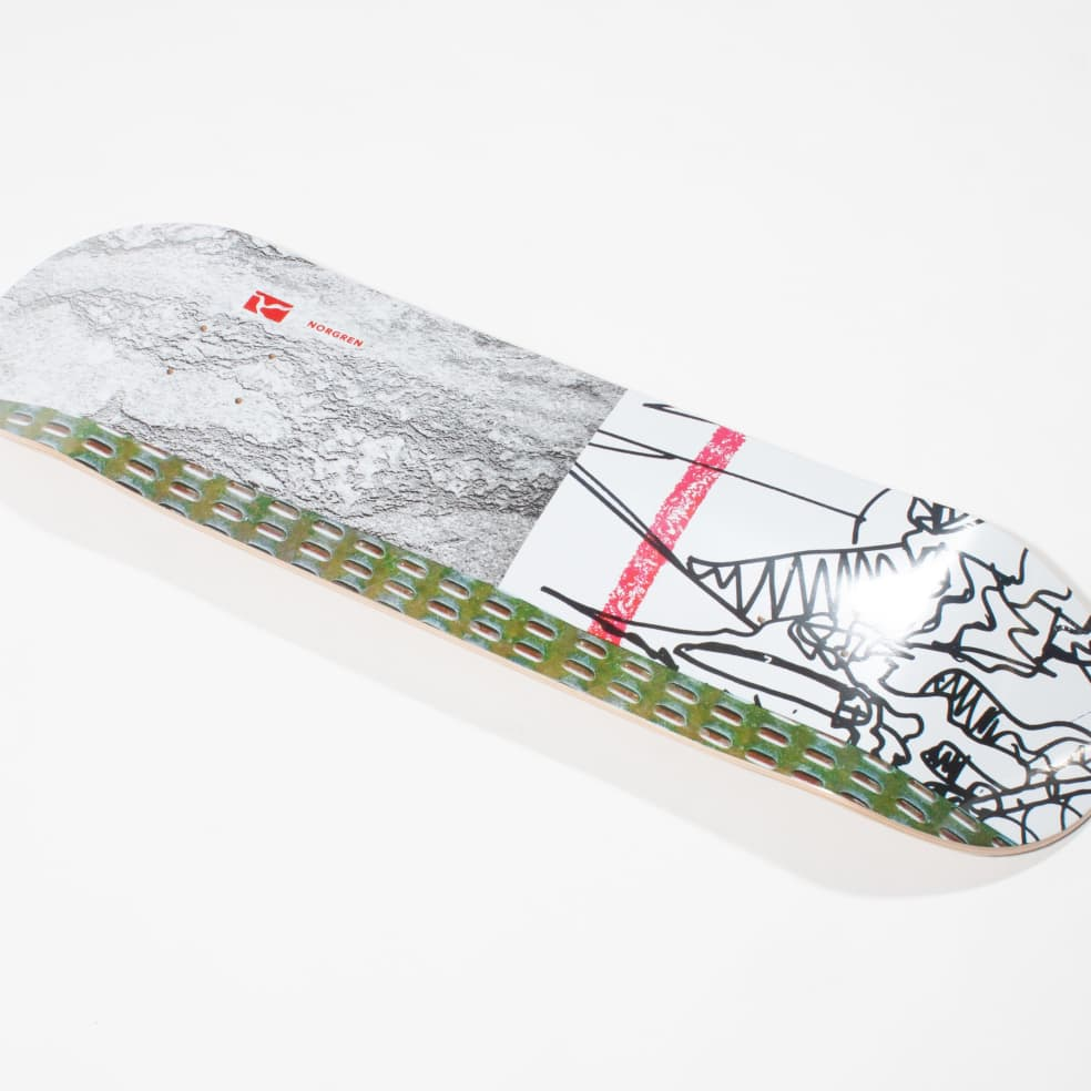 Poetic Collective Norgren Skateboard Deck - 8.00   Deck by Poetic Collective 2