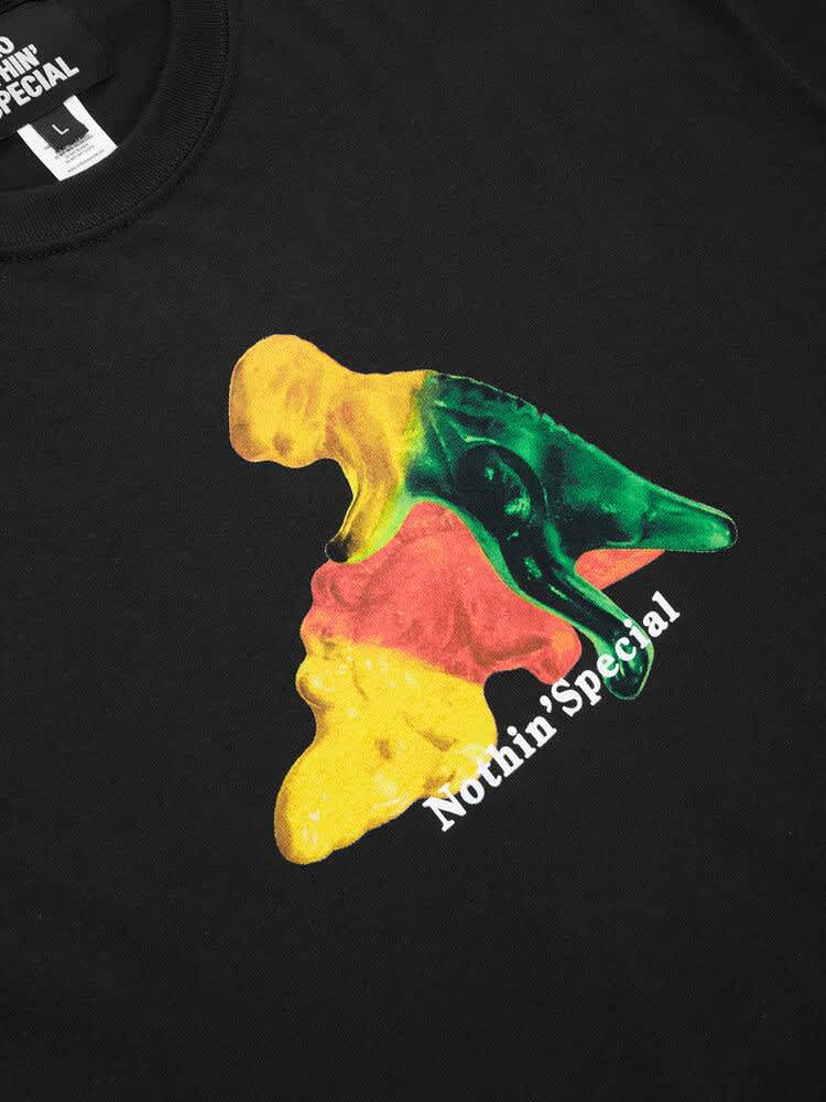 Nothin'Special Gummy Dinos T-shirt - Black   T-Shirt by Nothin'Special 2