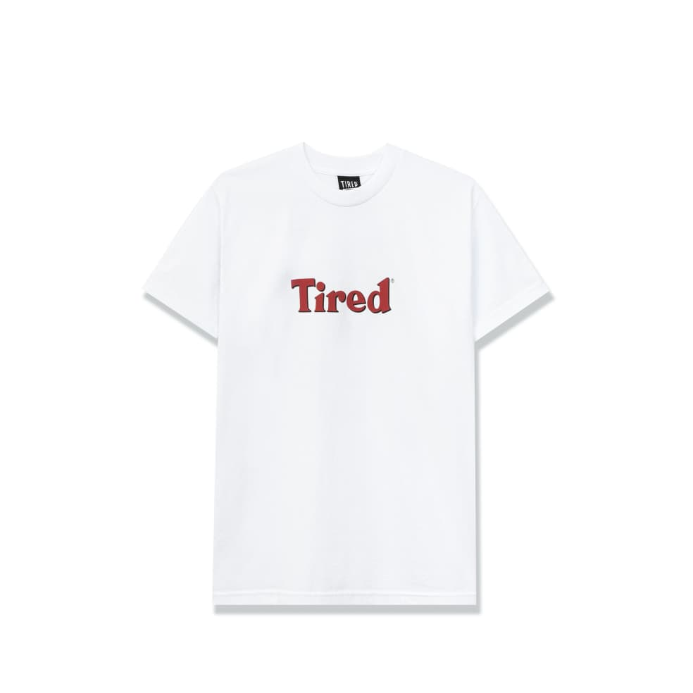 Tired Bloody Tired T-Shirt - White | T-Shirt by Tired Skateboards 2