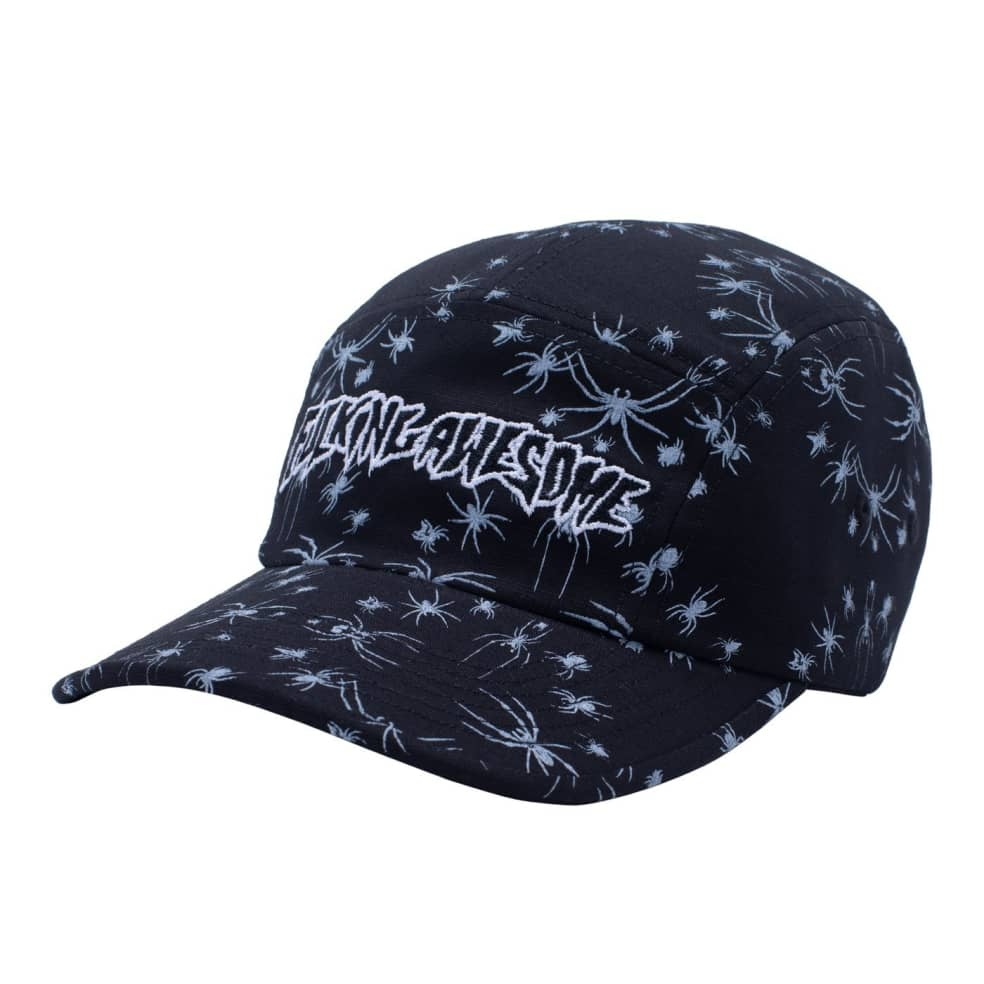 Fucking Awesome Spider Stamp Volley Strapback - Black   Baseball Cap by Fucking Awesome 1