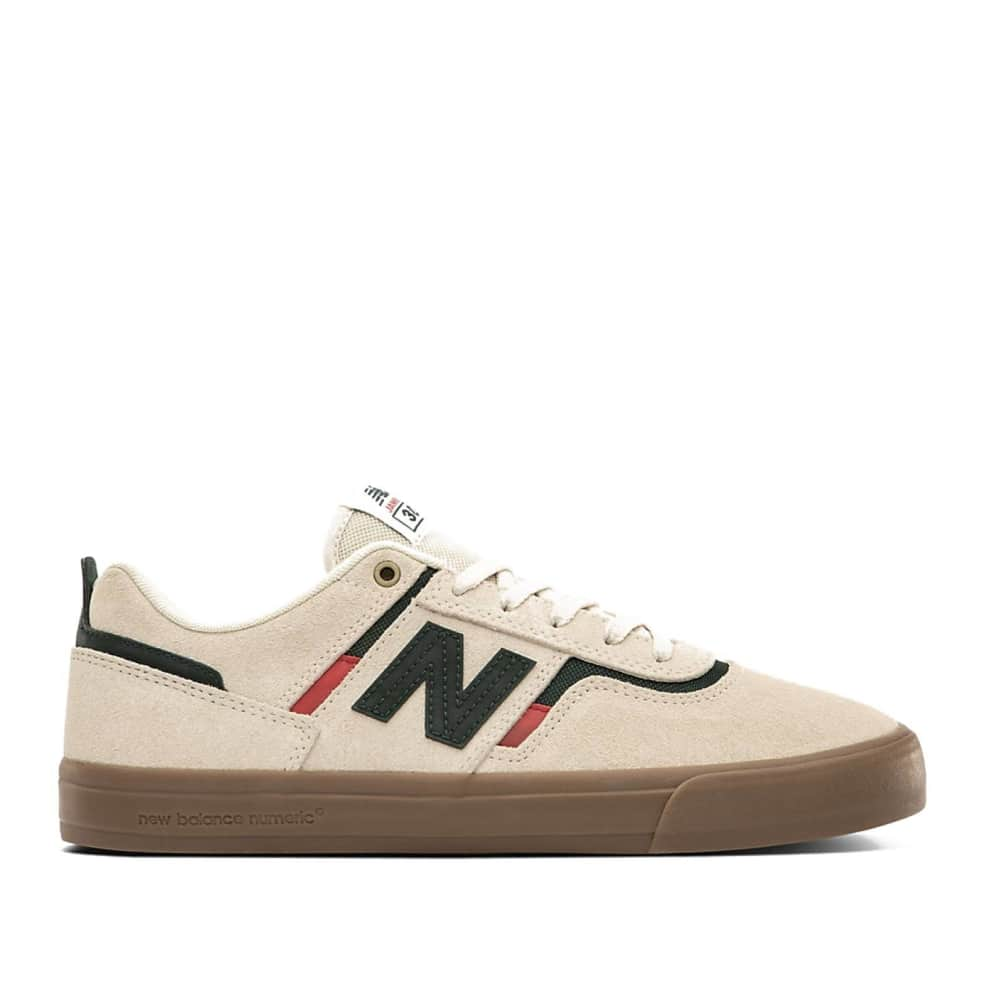 New Balance Numeric 306 Shoes - White / Green   Shoes by New Balance 1