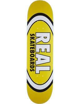 Real Team Classic Oval   Deck by Real Skateboards 1