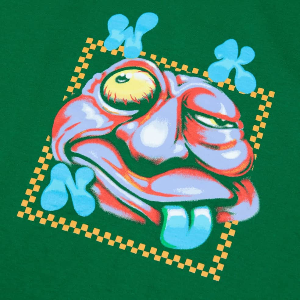 WKND Zooted T-Shirt - Green   T-Shirt by WKND 2