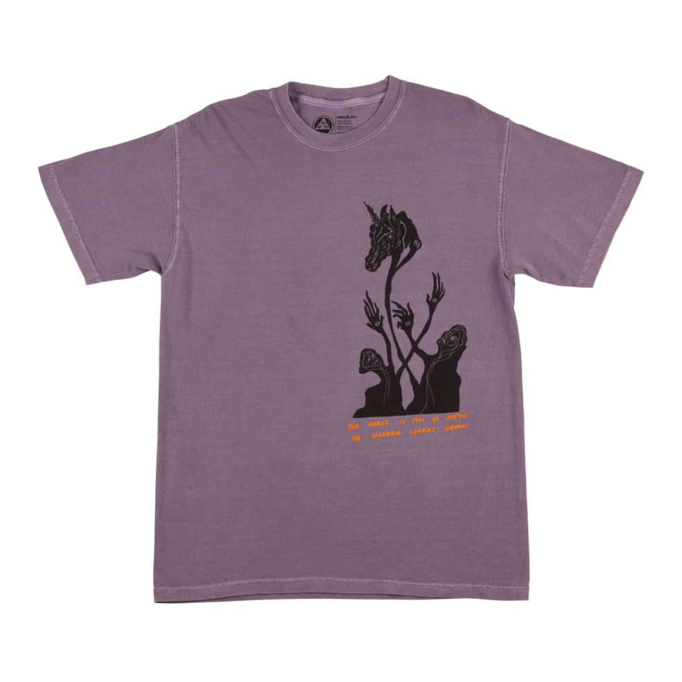 Welcome Soft Kill Garment Dyed Tee | T-Shirt by Welcome Skateboards 2