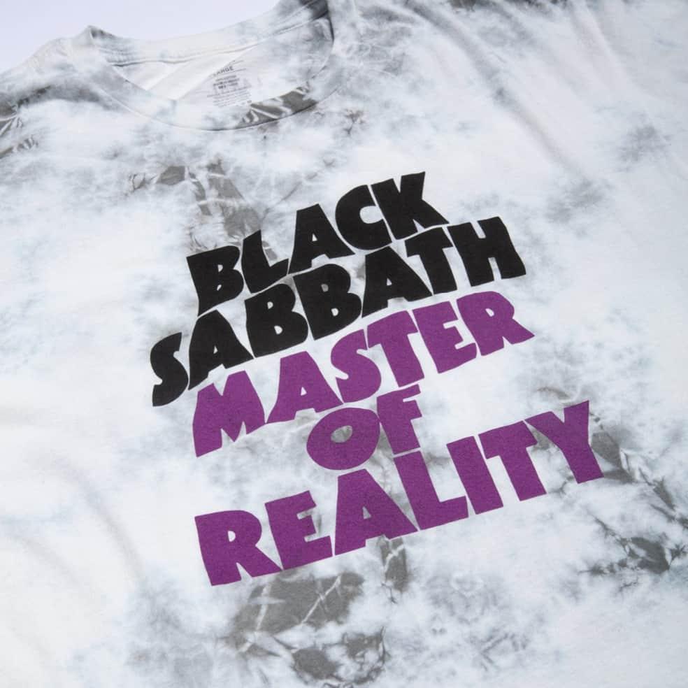 Lakai x Black Sabbath Master of Reality T-Shirt - White Tie Dye   T-Shirt by Lakai 3