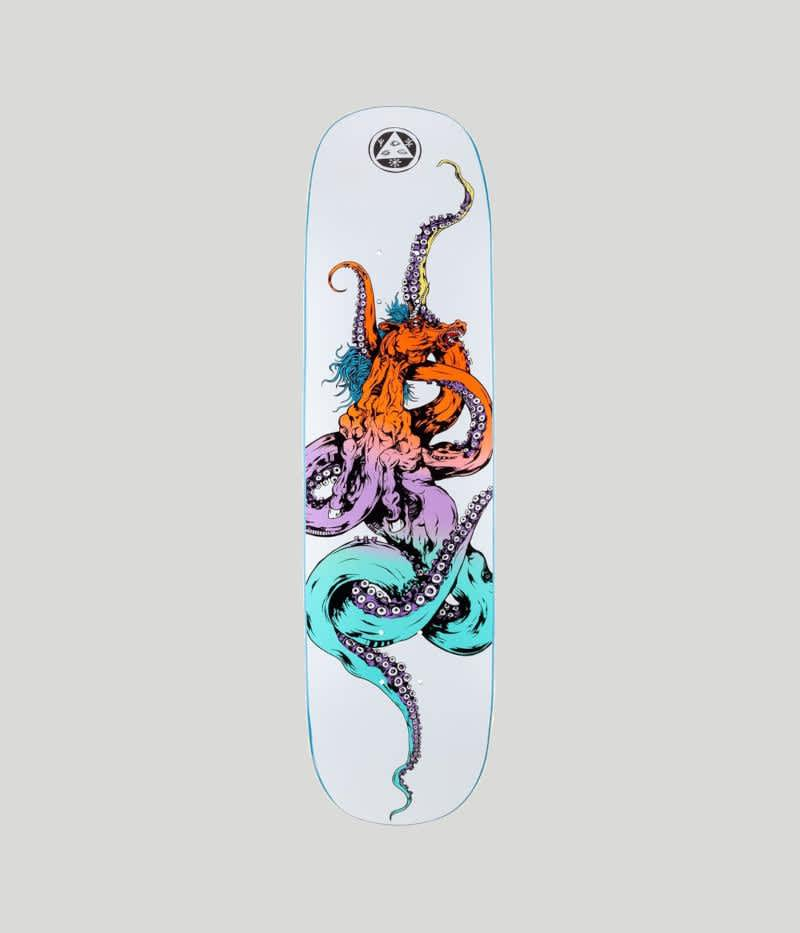 """Welcome Skateboards Seahorse 2 on Amulet Skateboard Deck 8.125""""   Deck by Welcome Skateboards 1"""