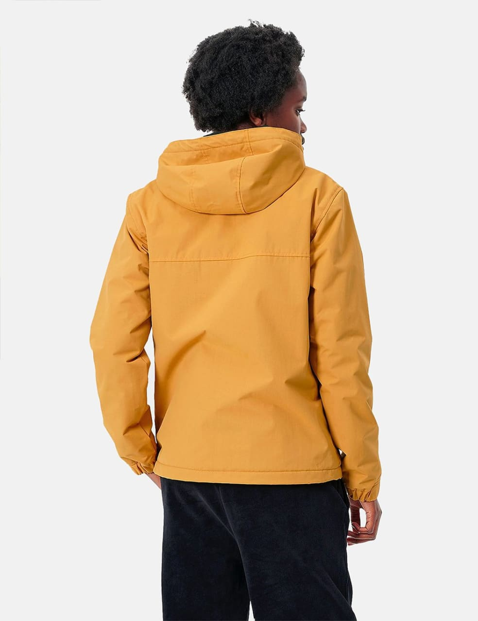 Womens Carhartt-WIP Nimbus Half-Zip Jacket (Fleece Lined) - Winter Sun | Jacket by Carhartt WIP 3