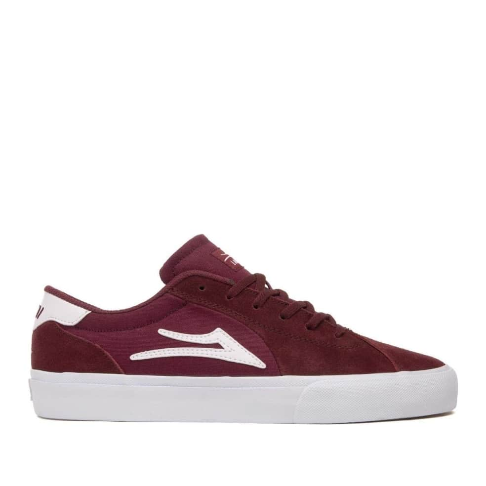 Lakai Flaco 2 Suede Skate Shoes - Burgundy | Shoes by Lakai 1