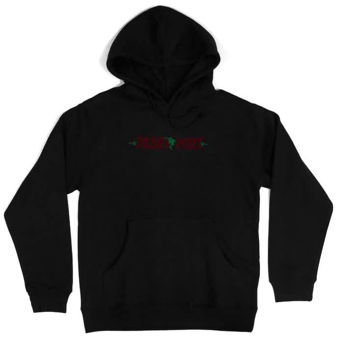 Pass~Port Life of Leisure Hoodie - Black | Hoodie by Pass~Port Skateboards 1