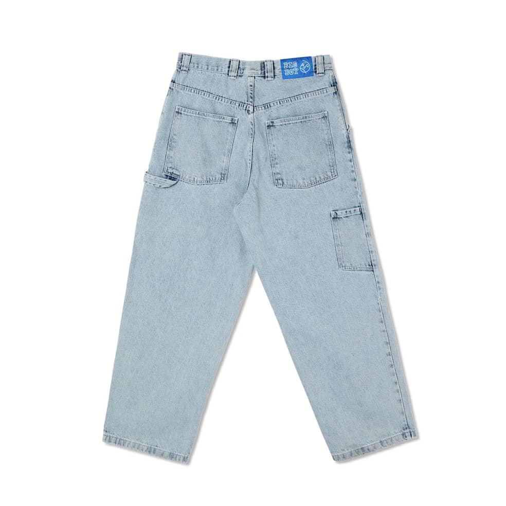 Polar Skate Co Big Boy Work Pants - Light Blue | Jeans by Polar Skate Co 2
