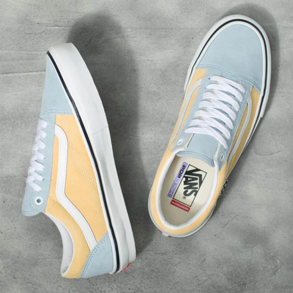 Vans Skate Old Skool Shoes - Winter Sky / Impala | Shoes by Vans 3