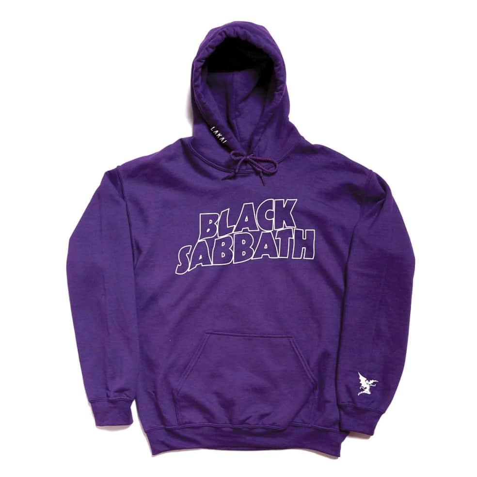 Lakai x Black Sabbath Master of Reality Hoodie - Purple   Hoodie by Lakai 1