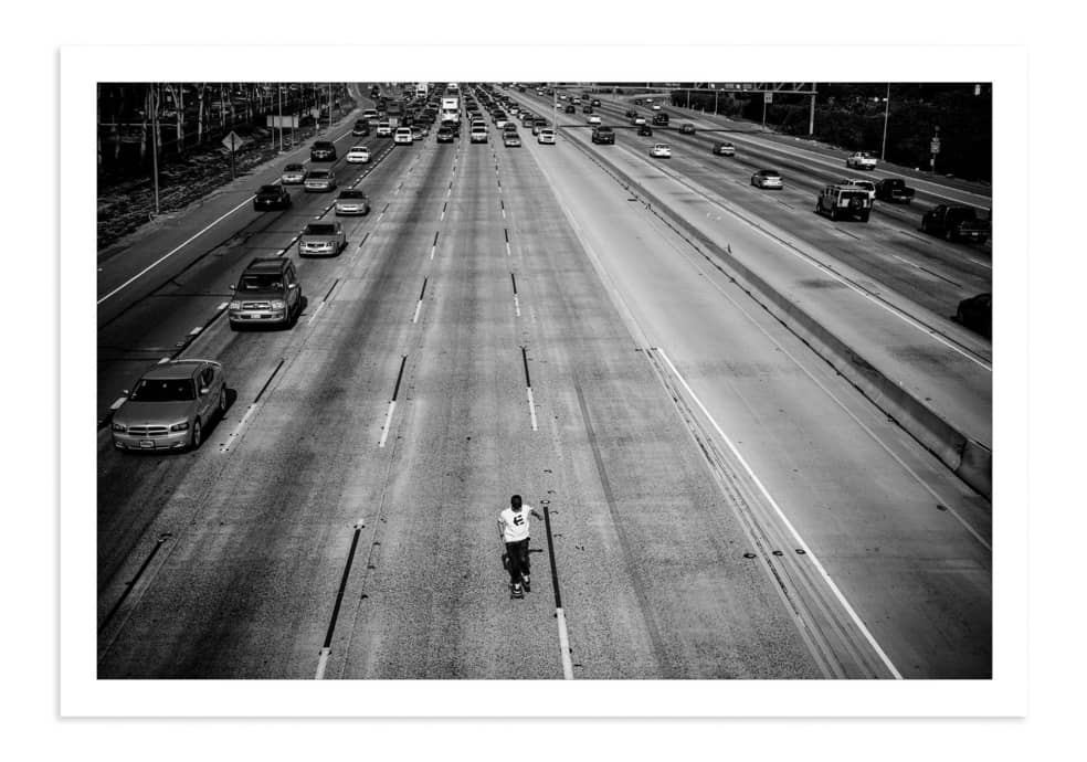 Don Brown, 405 Freeway, California, 2008. | Photograph by Skin Phillips 1