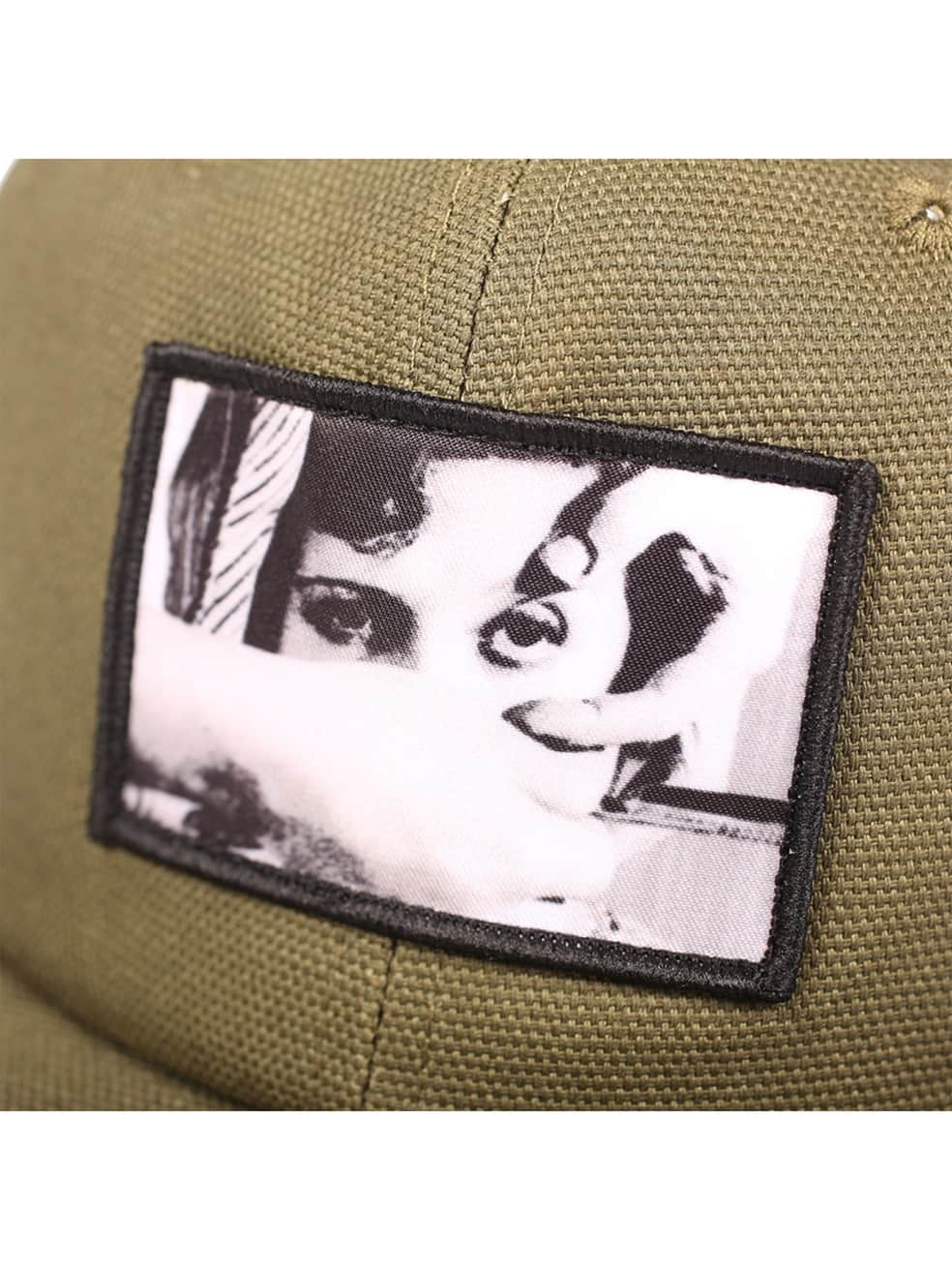 """PICTURE SHOW-""""ANDALOU SNAPBACK HAT""""(OLIVE)   Snapback Cap by Picture Show Studios 2"""