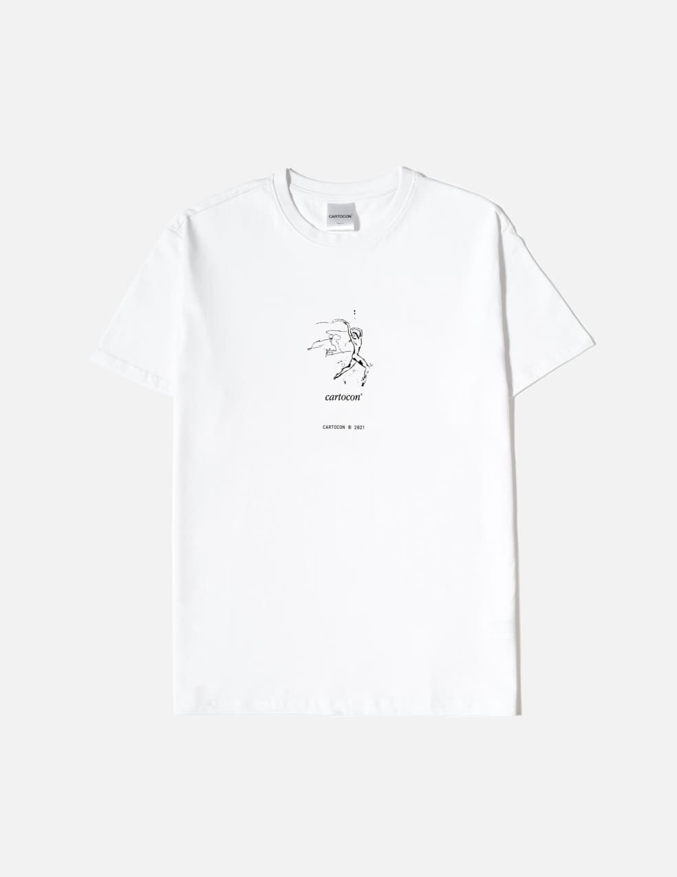CARTOCON Dance Index T-Shirt - White | T-Shirt by Cartocon 1