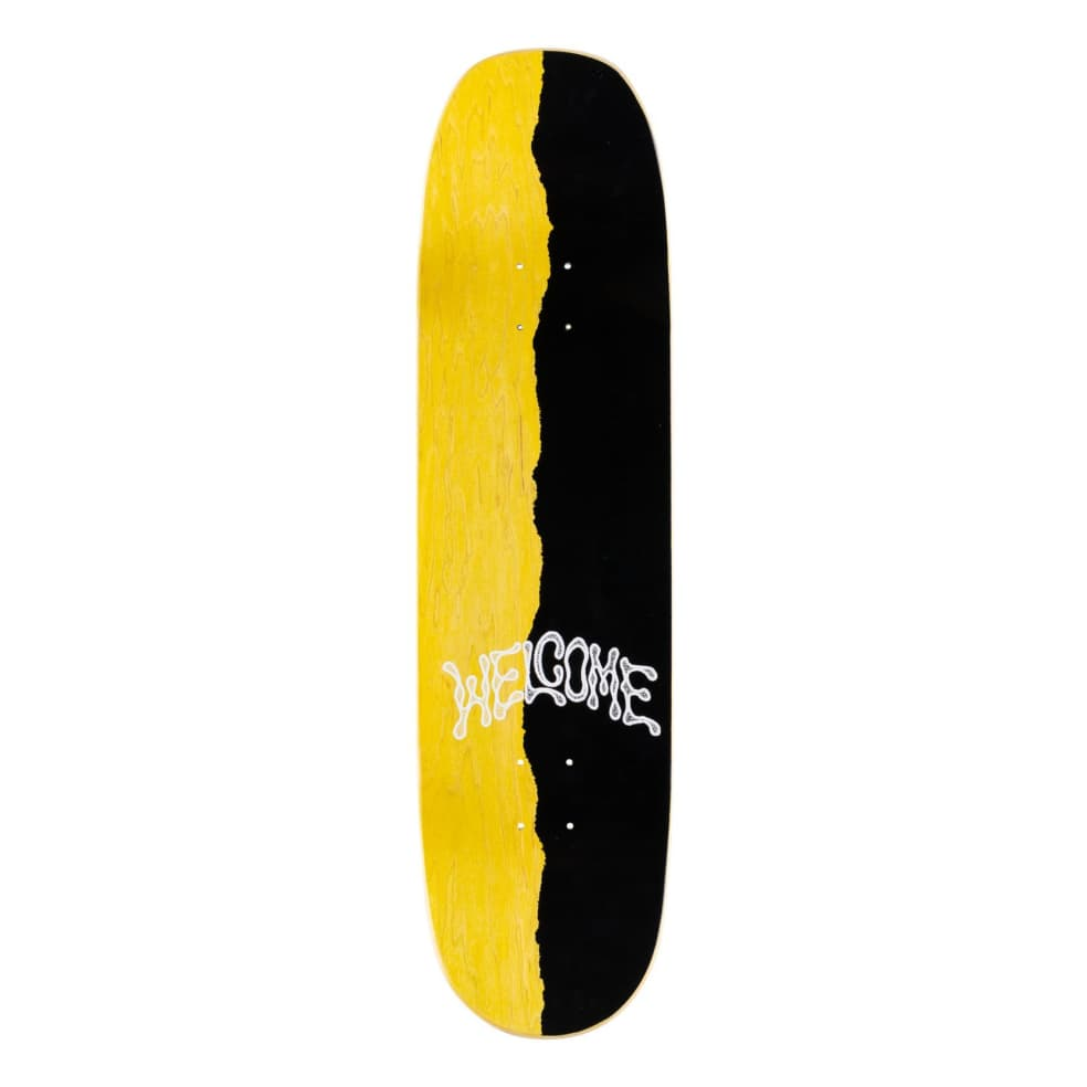 Welcome Flash on Moontrimmer Skateboard Deck 8.65 | Deck by Welcome Skateboards 3