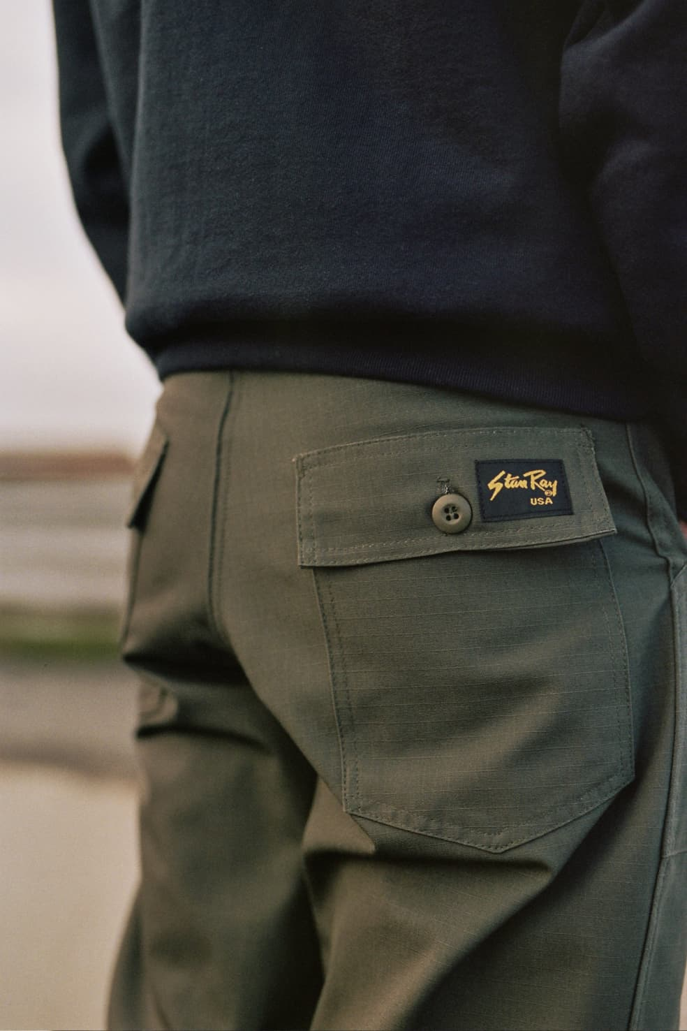Original Loose Fatigue Pant Loden Ripstop   Trousers by Stan Ray 3