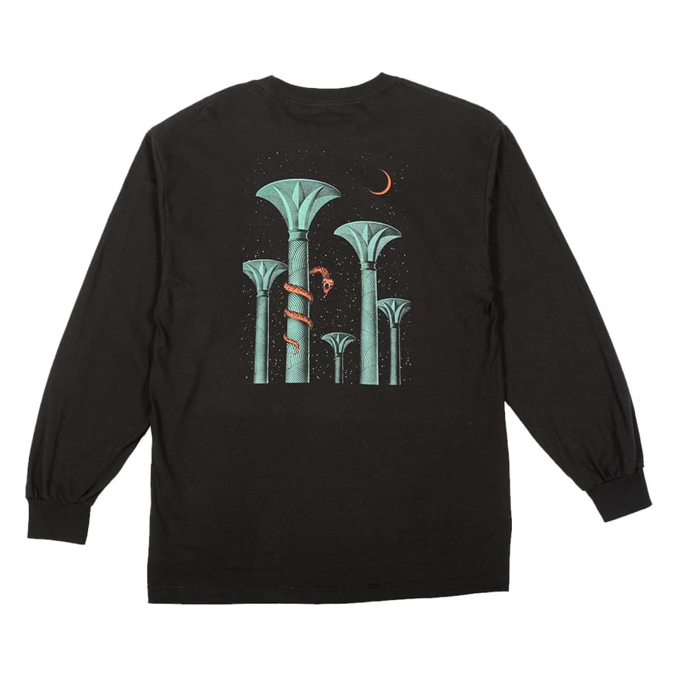 Picture Show Serpent Long Sleeve Tee Black | Longsleeve by Picture Show Studios 2