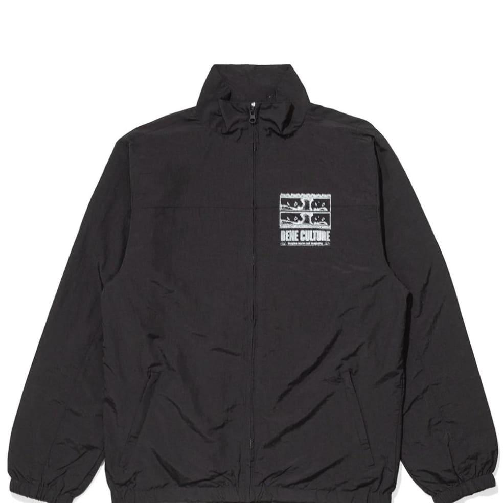 Bene Culture Imagine Track Top - Black | Track Jacket by Bene Culture 1