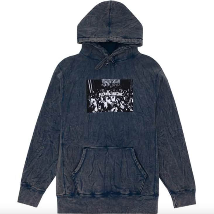 Fucking Awesome Club Hoodie - Mineral Navy | Hoodie by Fucking Awesome 1