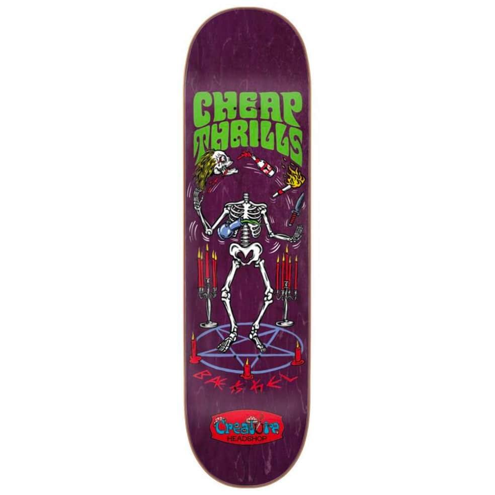 "Creature Skateboards - Kevin Baekkel Cheap Thrills Deck 8.375"" Wide   Deck by Creature Skateboards 1"
