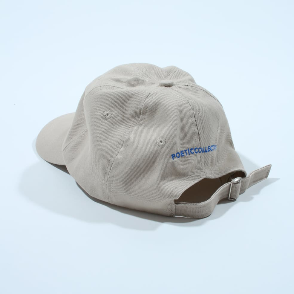 Poetic Collective Art 6 Panel Cap - Tan | Baseball Cap by Poetic Collective 2