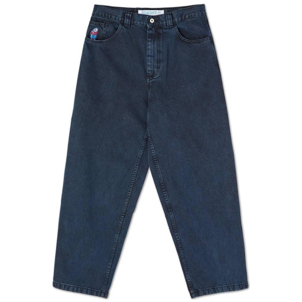 Polar Skate Co Big Boy Jeans - Blue Black | Jeans by Polar Skate Co 1