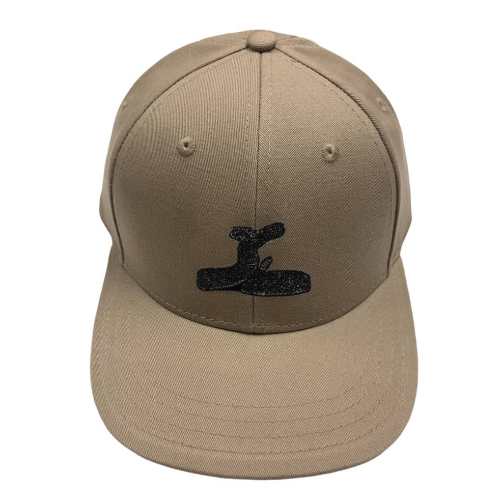 RELIEF RATTLE SNAKE 6 PANEL TAN   Baseball Cap by Relief Skate Supply 1