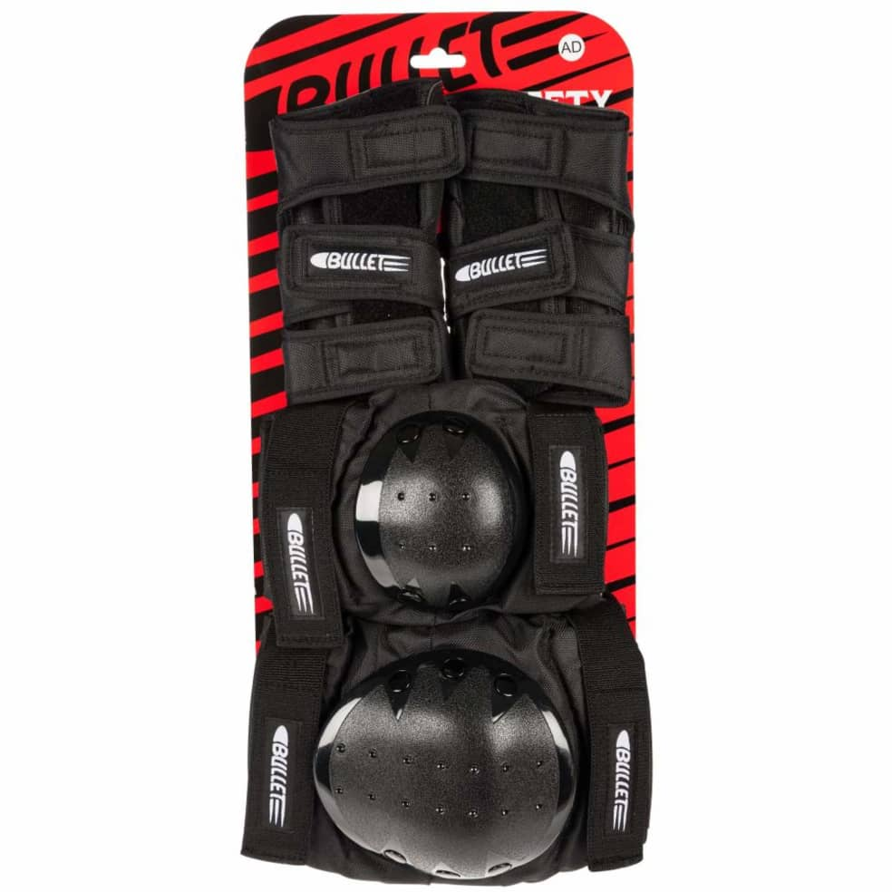 Bullet Combo Deluxe Pad Set | Junior | Pads by Bullet Skateboards 2