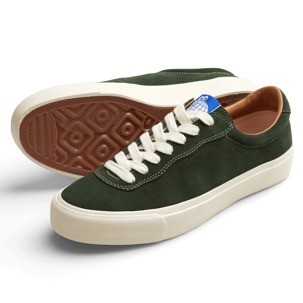 Last Resort AB VM001 Suede Lo Skate Shoes - Olive / White   Shoes by Last Resort AB 2