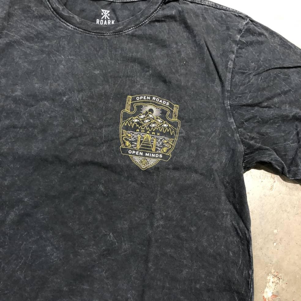 Roark Open Minds Open Roads T-shirt   T-Shirt by Roark 2