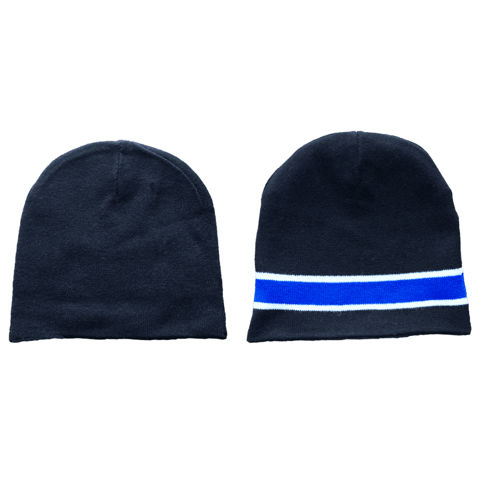 always do what you should do - reversible no cuff beanie | Beanie by always do what you should do 2
