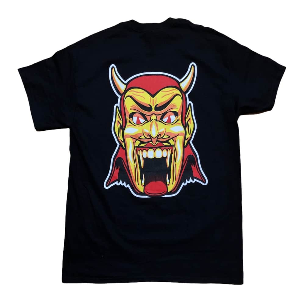 RELIEF DANTES INFERNO TEE BLACK   T-Shirt by Relief Skate Supply 1