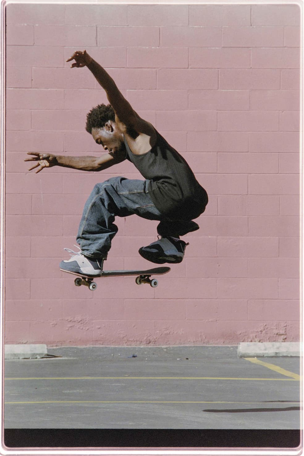 Stevie Williams, Los Angeles, 2000   Photograph by Mike Blabac 2
