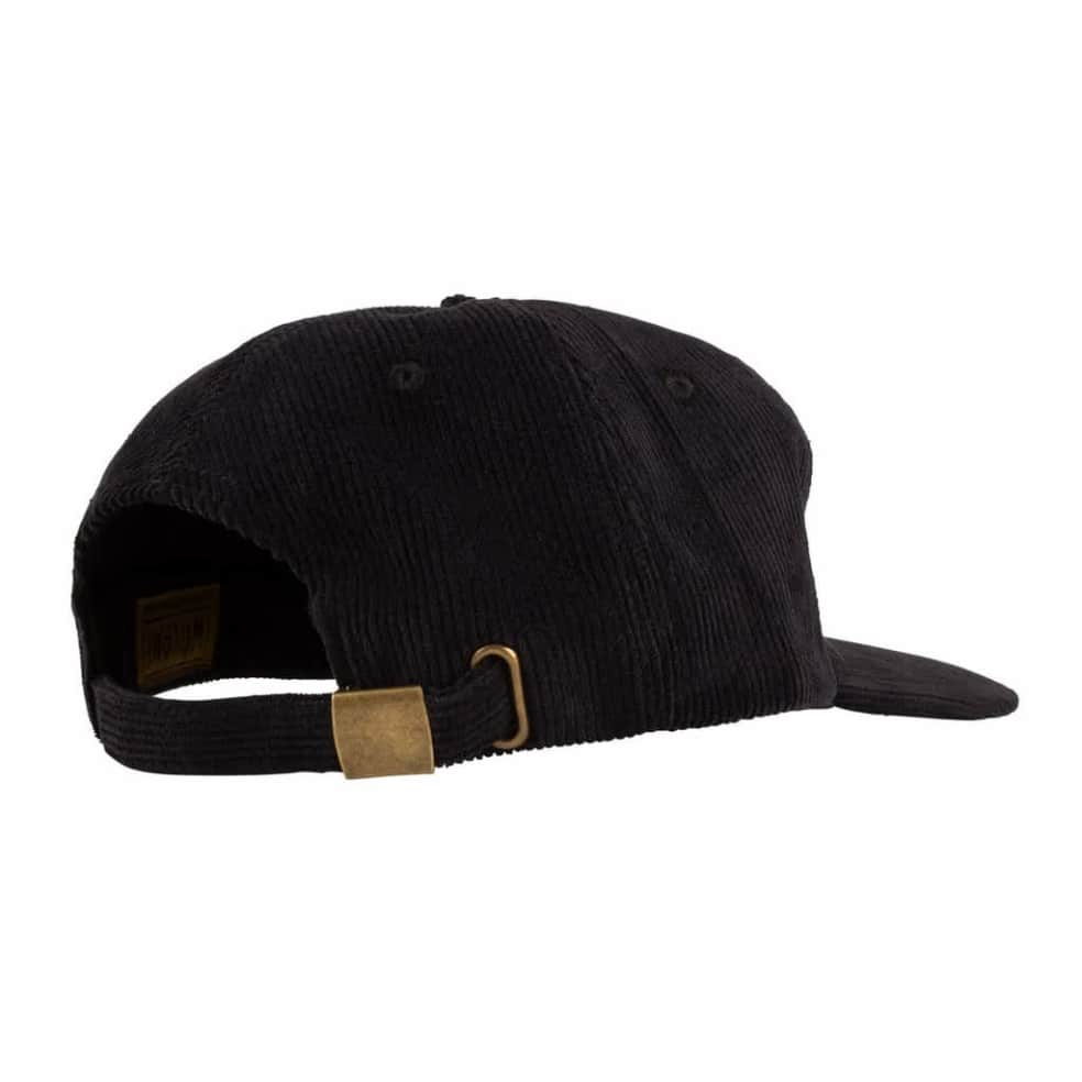 Welcome Burst Cord Cap - Black | Baseball Cap by Welcome Skateboards 3