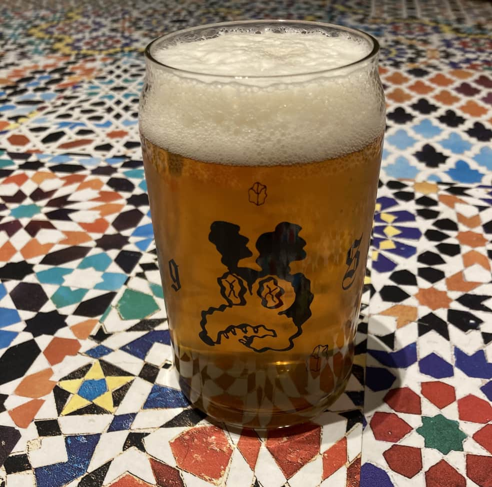 DRUG STORE Beer Can Glass   Giftables by Drug Store 1