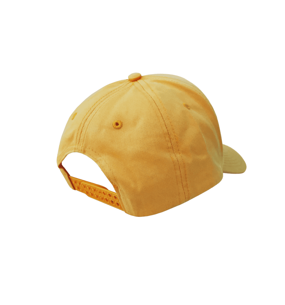 Frog Dino Logo 5-Panel Hat - Yellow | Snapback Cap by Frog Skateboards 2