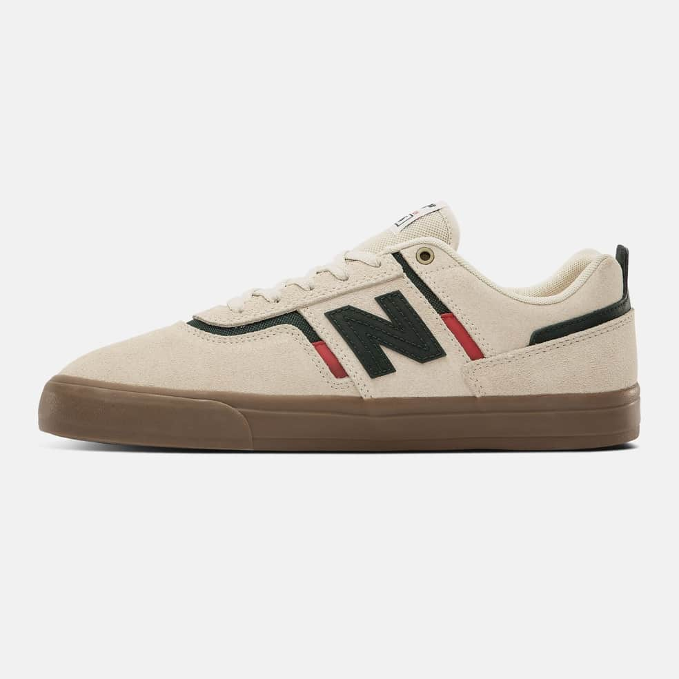 New Balance Numeric 306 Shoes - White / Green   Shoes by New Balance 3