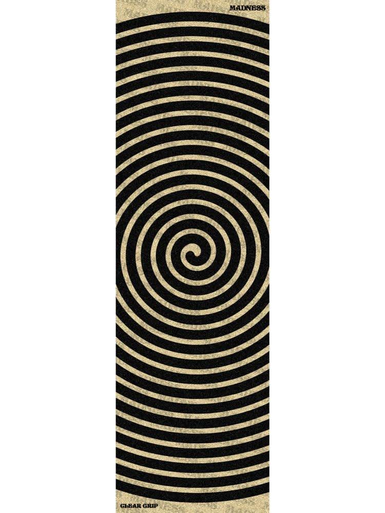 Madness Swirl Grip Sheet - Clear | Griptape by Madness Skateboards 1