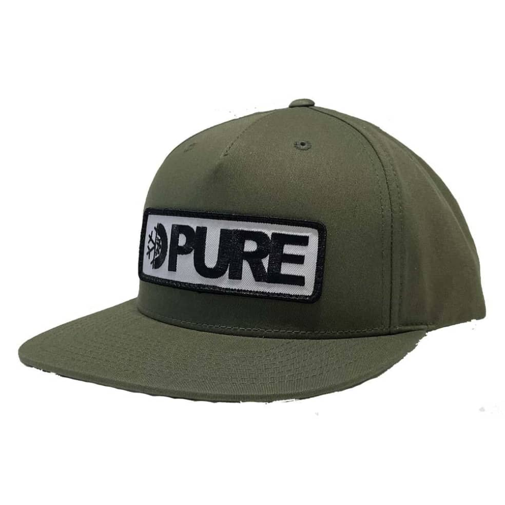 PURE Bar Patch Snapback Hat | Snapback Cap by PURE 1