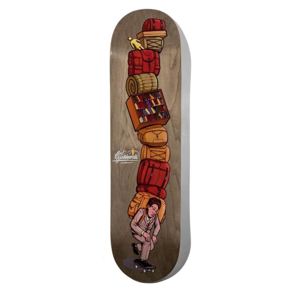"Girl Bennett Emotional Baggage Skateboard Deck - 8.125"" | Deck by Girl Skateboards 1"