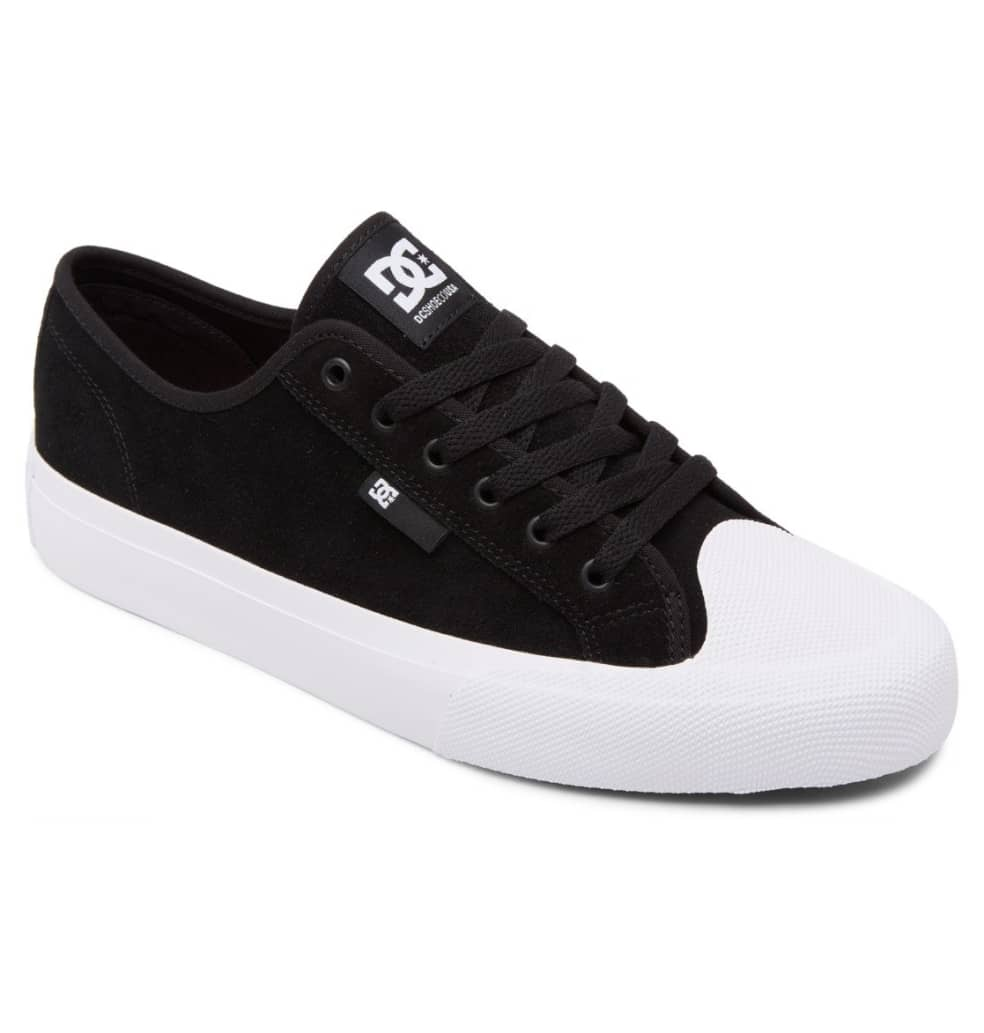 DC Manual RT S Skate Shoe - Black / White | Shoes by DC Shoes 2