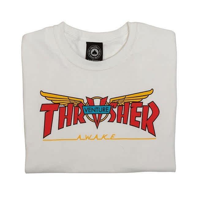Thrasher Venture Collab T-Shirt - White | T-Shirt by Thrasher 2