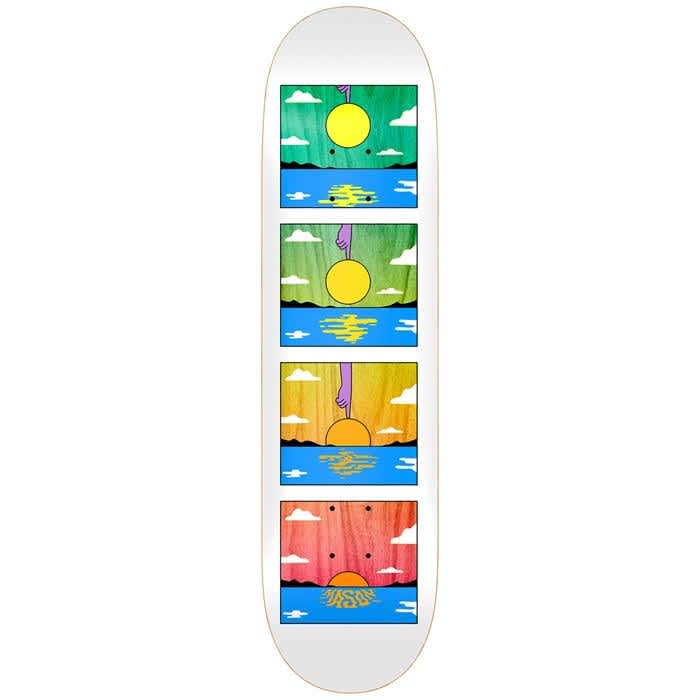"""Real Mason Sunset Deck 8.38""""   Deck by Real Skateboards 1"""